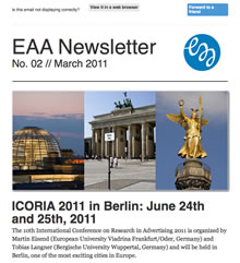 EAA Newsletter No. 02 // March 2011
