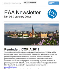 EAA Newsletter No. 06 // January 2012