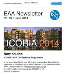 EAA Newsletter No. 16 // June 2014
