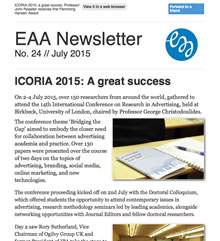 EAA Newsletter No. 24 // July 2015