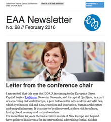 EAA Newsletter No. 28 // February 2016