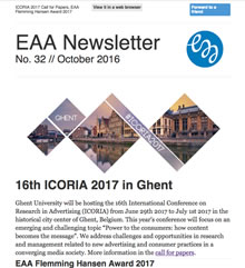 EAA Newsletter No. 32 // October 2016