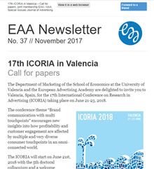 EAA Newsletter No. 37 // November 2017