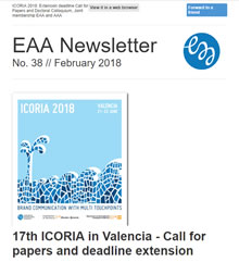 EAA Newsletter No. 38 // February 2018