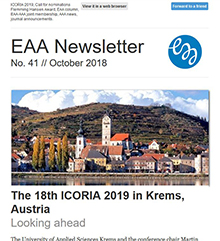 EAA Newsletter No. 41 // October 2018