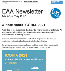 EAA Newsletter No. 54 // May 2021